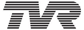 TVR's logo