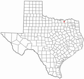 Location of Bells, Texas
