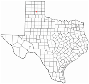 Location of Claude, Texas