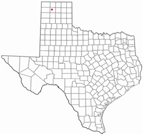 Location of Dumas, Texas