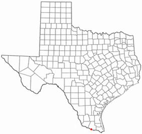 Location of Hidalgo, Texas