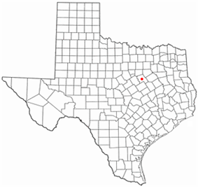 Location of Hillsboro, Texas