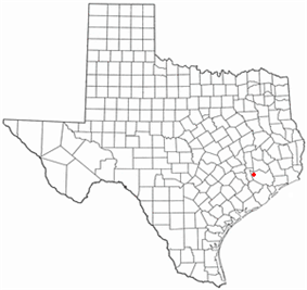 Location of Hockley, Texas