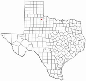 Location of Paducah, Texas