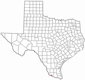 Location of Rio Grande City, Texas
