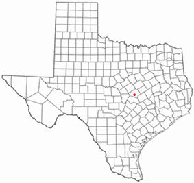 Location of Salado, Texas