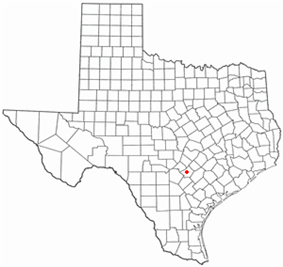 Location of Seguin, Texas