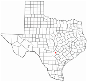 Location of Selma, Texas