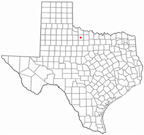 Location of Seymour, Texas
