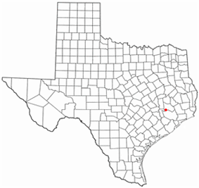 Location of Stagecoach, Texas