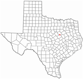 Location of West, Texas