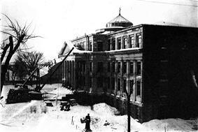 Tabaret Hall building at the University of Ottawa