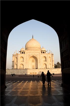 Taj Mahal at Sunrise, Uttar Pradesh