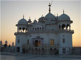 Takht Sri Keshgarh Sahib, the main attraction from Anandpur Sahib