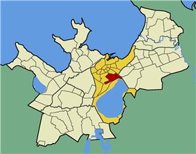 Juhkentali within the district of Kesklinn (Midtown).
