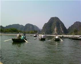 Tam Cốc in Hoa Lư Ancient Capital