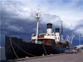 SS Tarmo in the port of Kotka