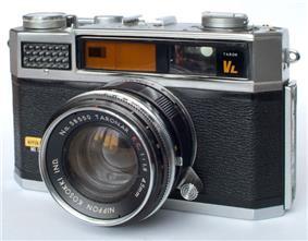 A single-lens reflex camera