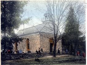 The Old Dutch Church in 1907