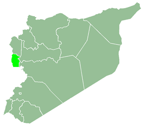 Tartus Governorate within Syria