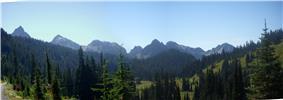 The Rugged Tatoosh Range from Paradise