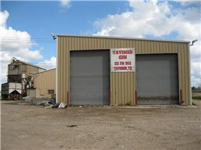 Tavener cotton gin at US 90A and FM 1952