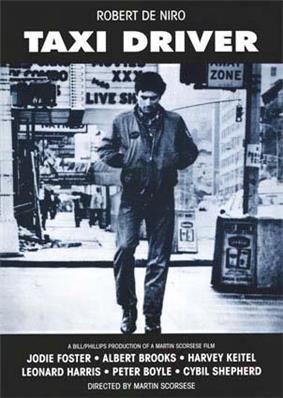A man walking alone along a city street