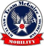 Official seal of McGuire Air Force Base, New Jersey