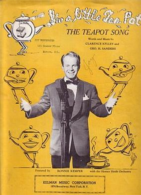 The Teapot Song sheet music cover