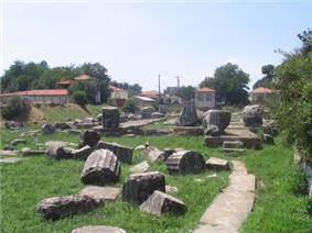 The temple of Athena Alea at Tegea