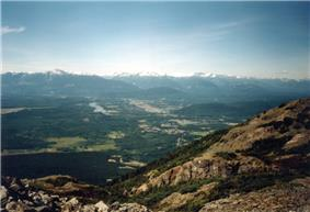 View from Mount Thornhill