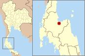 Location in Thailand