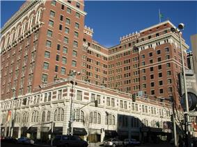 Kirtland Cutter's renaissance revival style Davenport Hotel, widely regarded to be his magnus opus
