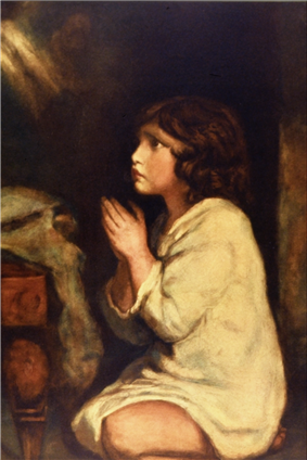 Infant Samuel at Prayer
