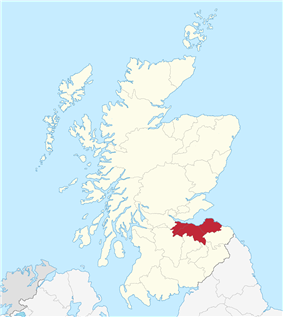 Location of Lothian