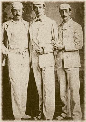 The three Studd brothers