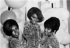 Diana Ross with the Supremes in 1967
