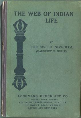 The Web of Indian Life first edition front cover