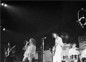 The Who live in Charlotte, North Carolina, 1971