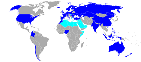 Countries having local versions of The X Factor.