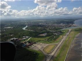 Aerial view of Dipolog City