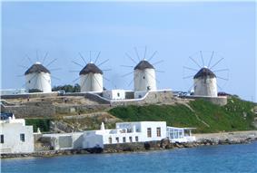 The four windmills in Mykonos.JPG