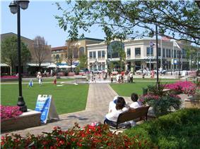 The Greene Town Center mall