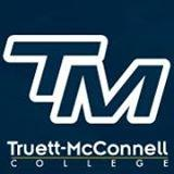The logo for Truett-McConnell College