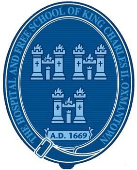 The King's Hospital school crest