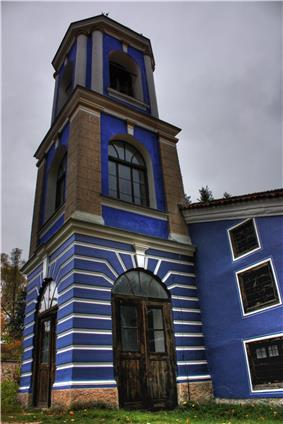 The steeple of the Dorminion of the Theotokos church.jpg