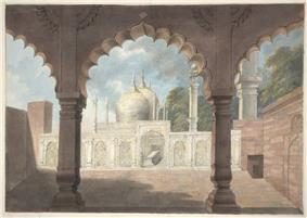 The tomb of the Emperor Shah 'Alam at the dargah of Qutb-Sahib at Mahrauli.jpg