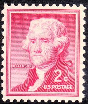Thomas Jefferson Regular Issues 1954-2c.jpg