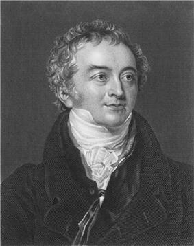 Stipple engraving of Thomas Young