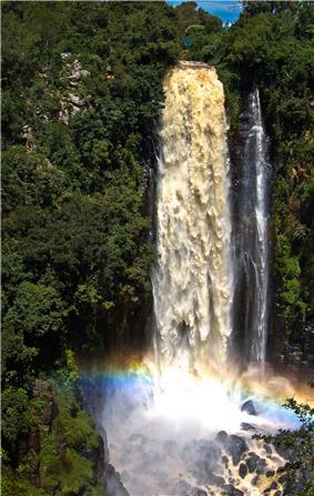 Thomson's Falls in Nyahururu.